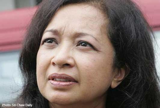 Daughter of former prime minister Mahathir Mohamad, Datin Paduka Marina Mahathir. Sources: www.asiaone.com