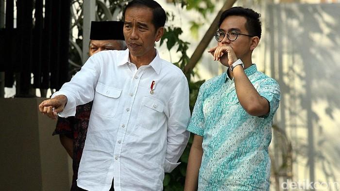 Jokowi dan Gibran. Foto: detik.com