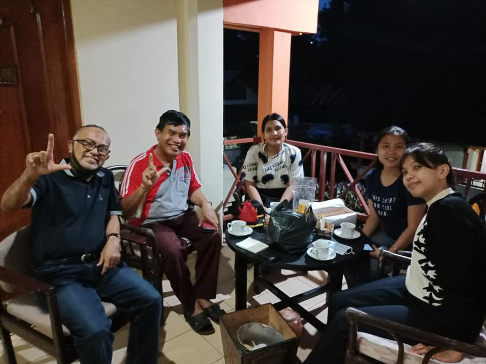 Bersama Pak Akar Nimpa, Ketua IGI Toraja.